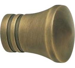 Conjunto estilo con dos rayas bronce