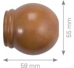 Wooden ball terminal