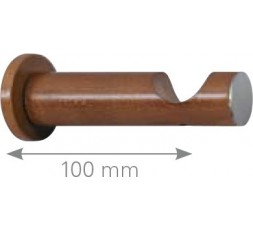 Soporte cilindro mixto frente madera