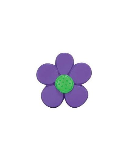 Green violet flower terminal