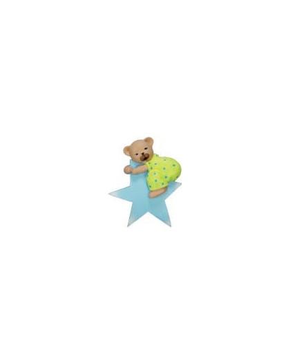 terminal barra cortina oso estrella azul