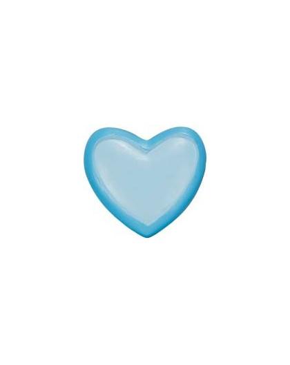 terminal barra cortina corazon azul