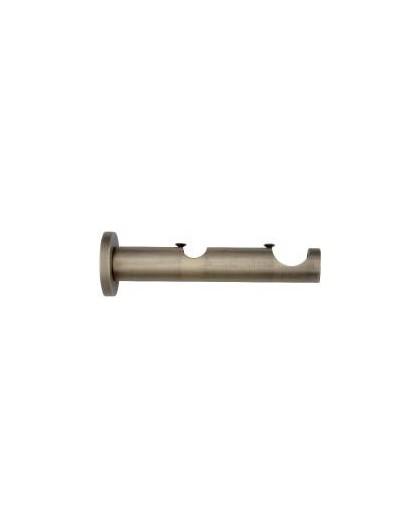 Soporte cilindro doble bronce