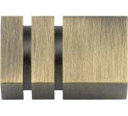 Square set two bronze stripes