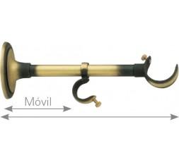 Polished front brass bracket