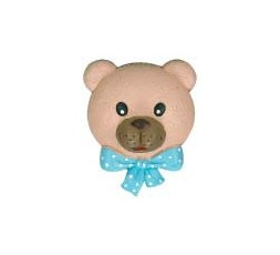 Blue bow tie bear terminal