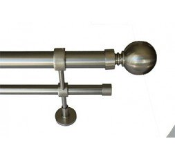 Set Double ball bar standard stainless steel