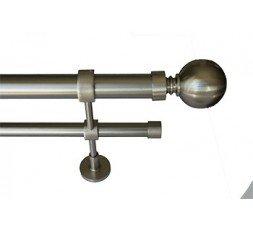Set Double ball bar standard stainless steel