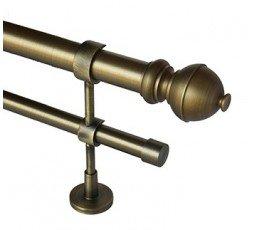 Bronze bar double file set