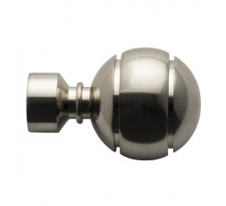 Ball terminal with steel stripes