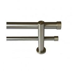 Conjunto Tapón doble barra acero inox.