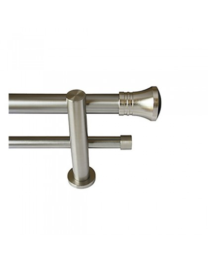 Set Style double stainless steel bar