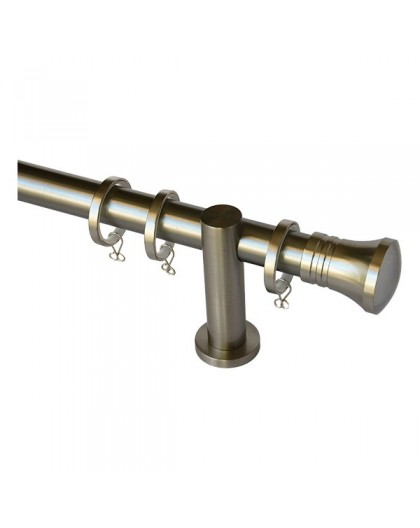 Stainless steel style curtain pole