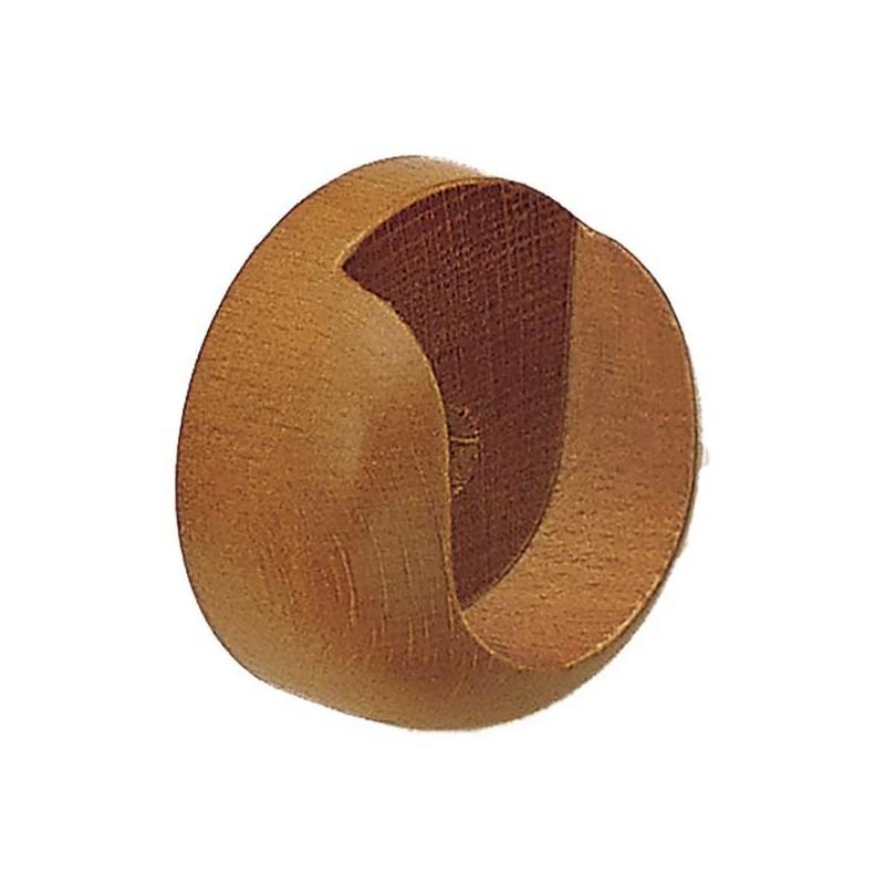 Soporte lateral para barra de cortina de madera - Barra de madera para cortinas ...